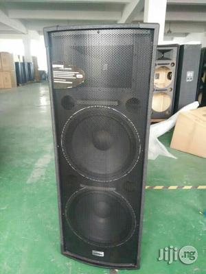 """Double 15"""" Inches Stage Speakers   Audio & Music Equipment for sale in Lagos State, Ojo"""