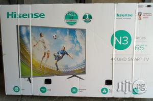 """65""""Hisense UHD 4K Smart TV 3 In 1 65 Inches   TV & DVD Equipment for sale in Lagos State, Ajah"""