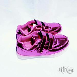 LED Pink Canvas for Girls   Children's Shoes for sale in Lagos State, Lagos Island (Eko)
