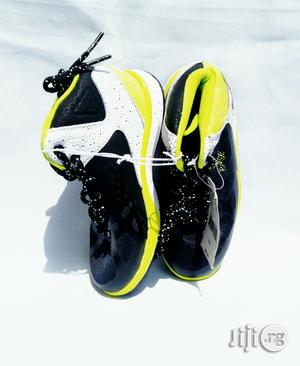 Black and Lemon High Top Sneakers | Children's Shoes for sale in Lagos State, Lagos Island (Eko)