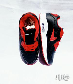 Black and Red Canvas | Children's Shoes for sale in Lagos State, Lagos Island (Eko)