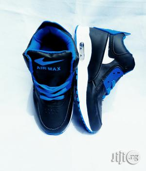 Black and Blue High Top Sneakers | Children's Shoes for sale in Lagos State, Lagos Island (Eko)