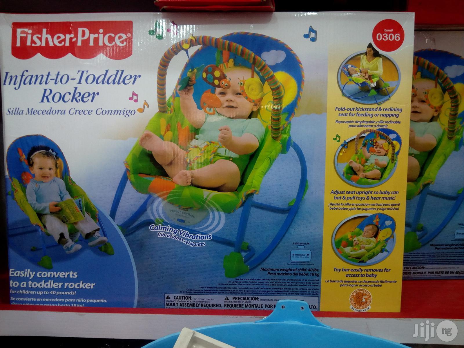Baby Infant To Toddler Rocker | Children's Gear & Safety for sale in Lagos Island (Eko), Lagos State, Nigeria