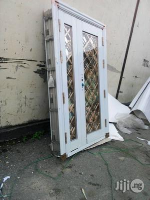 Glass Rose Gold Door in Door | Doors for sale in Lagos State, Orile