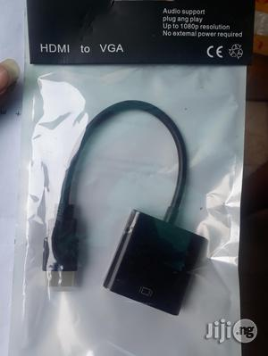HDMI To VGA Converter Adapter Cable   Accessories & Supplies for Electronics for sale in Lagos State, Ikeja