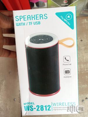 Bluetooth Speaker Ws-2812   Audio & Music Equipment for sale in Lagos State, Ikeja