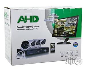 AHD 4-Channel Home Recording CCTV Security System   Security & Surveillance for sale in Lagos State, Shomolu