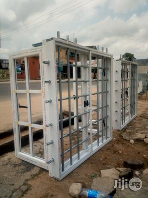 Casement Window With Galvanised Pipe Protectors | Windows for sale in Rivers State, Port-Harcourt