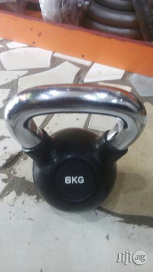 6kg Kettlebell With Steel Handle | Sports Equipment for sale in Lagos State, Surulere
