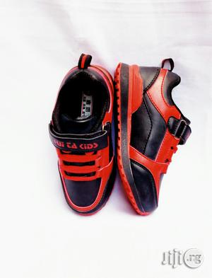 Black and Red Canvas for Toddler | Children's Shoes for sale in Lagos State, Lagos Island (Eko)