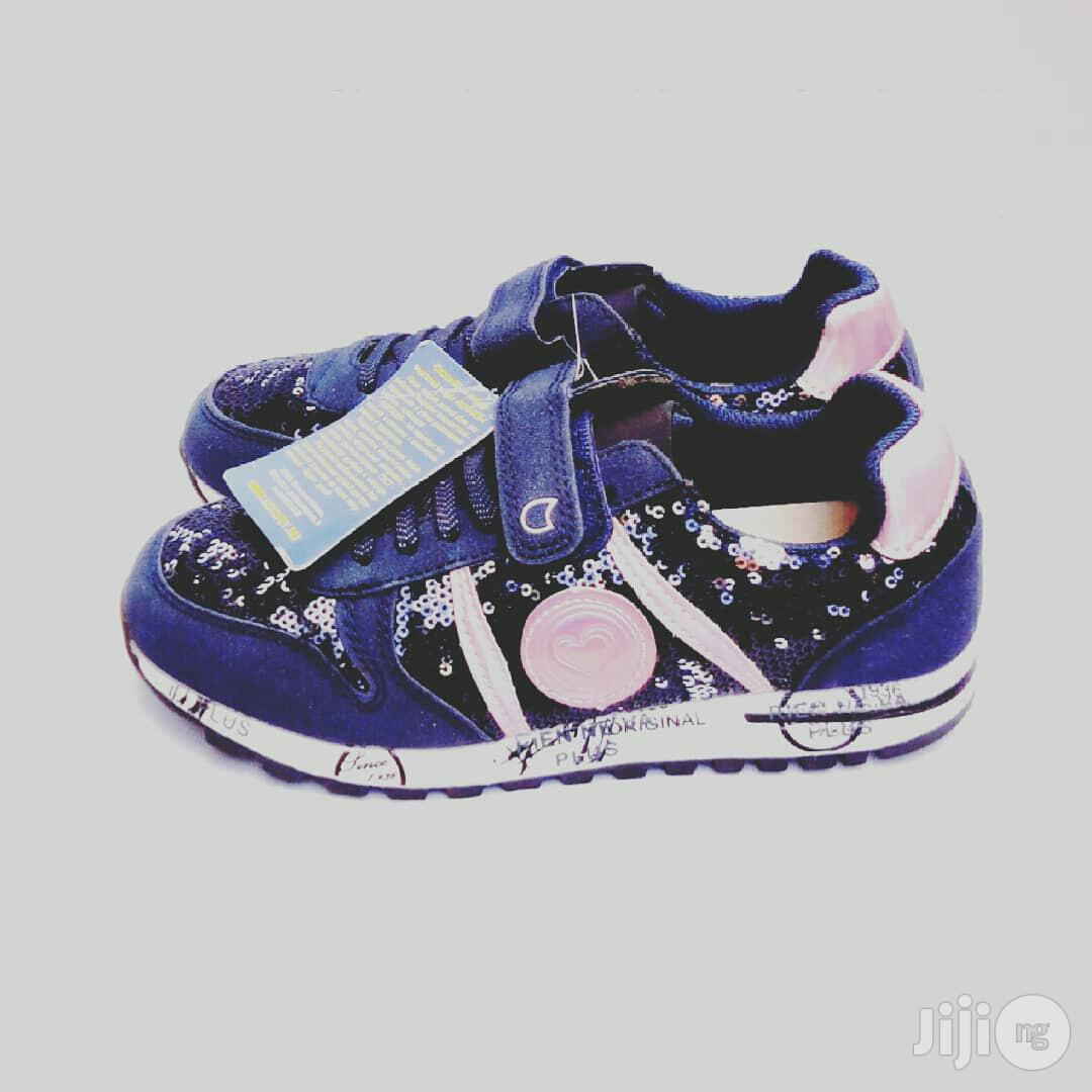 Navy Blue Canvas Sneakers | Children's Shoes for sale in Lagos Island (Eko), Lagos State, Nigeria