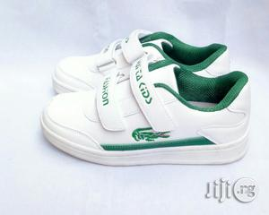 White Canvas With Green | Children's Shoes for sale in Lagos State, Lagos Island (Eko)
