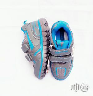 Grey and Blue Canvas | Children's Shoes for sale in Lagos State, Lagos Island (Eko)