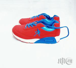 Red and Blue Canvas | Children's Shoes for sale in Lagos State, Lagos Island (Eko)