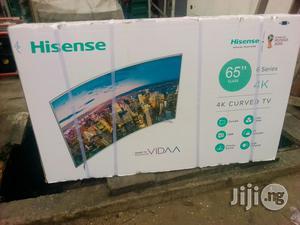 "Hisense CURVED Smart LED 65"" TV   TV & DVD Equipment for sale in Lagos State, Ojo"