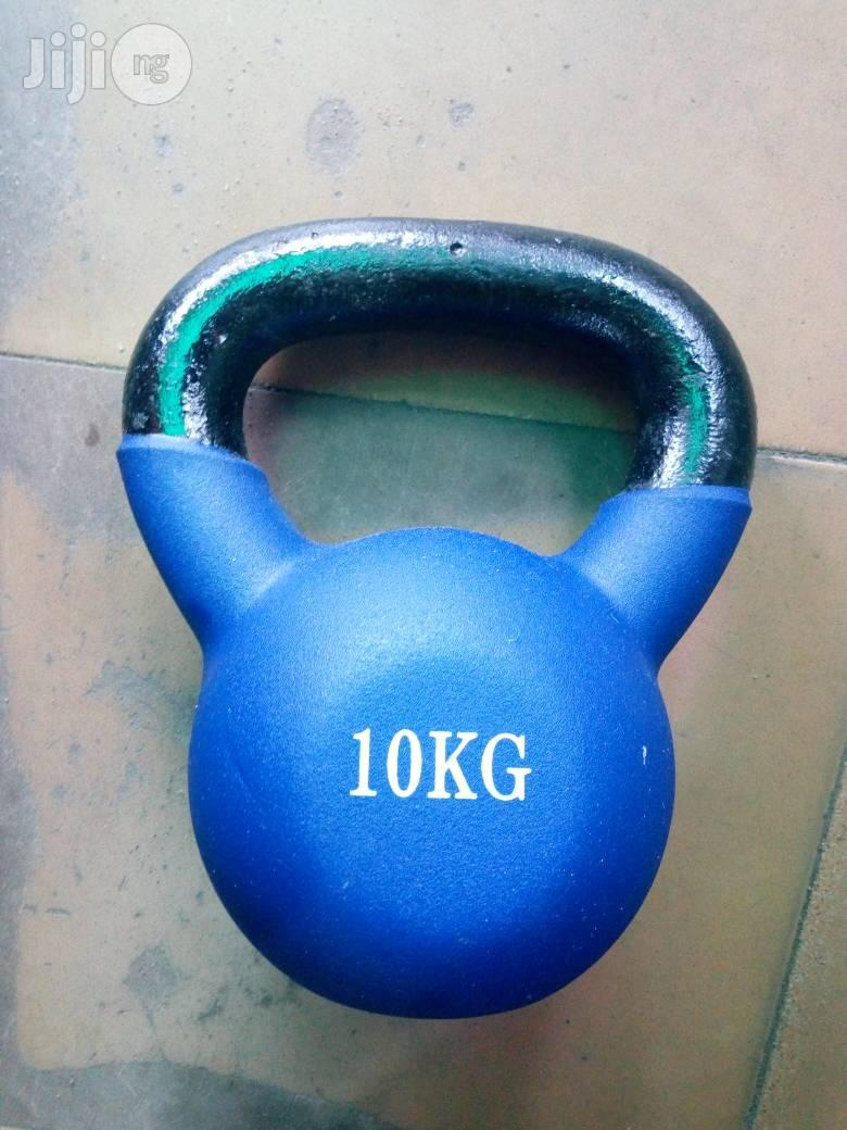 10kg Kettle Bell Available