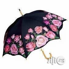 Flower Designed Rose Umbrella.   Garden for sale in Lagos State, Lagos Island (Eko)