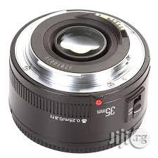 Brand New Yongnuo Prime Lens Yn 35mm 2.0 For Canon Cameras | Accessories & Supplies for Electronics for sale in Lagos State, Lagos Island (Eko)