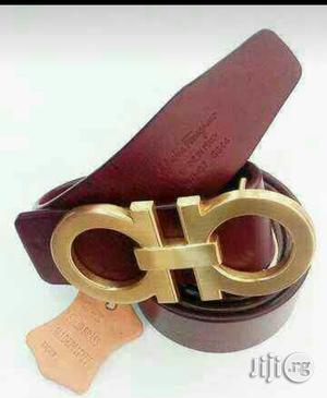 100% Percent Pure Leather Ferragamo Belt Available   Clothing Accessories for sale in Lagos State, Surulere