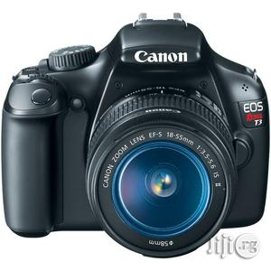 Newly Imported CANON Rebel T3 (1100D) DSLR Camera With KIT Lens   Photo & Video Cameras for sale in Lagos State, Ikeja