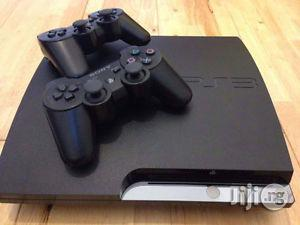 London Used Playstation 3 Slim With 18 Games and Double Pad | Video Game Consoles for sale in Lagos State, Ikeja