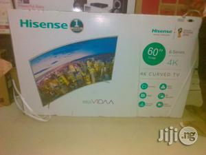 Hisense 60inch Led Curve Smart Tv | TV & DVD Equipment for sale in Lagos State, Ojo