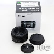 Brand New Prime Canon Lens 50mm F/1.8 STM   Accessories & Supplies for Electronics for sale in Lagos State, Lagos Island (Eko)