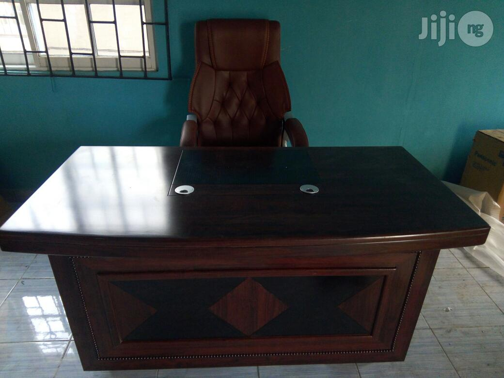 Executive Office Table And Executive Chair