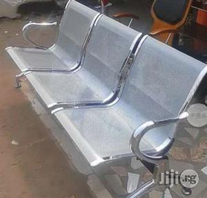 Top Quality Strong 3in1 Airport Office Chair | Furniture for sale in Lagos State, Lekki