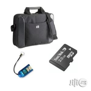 HP Laptop Bag With Card Reader Memory Card | Computer Accessories  for sale in Lagos State, Ikeja