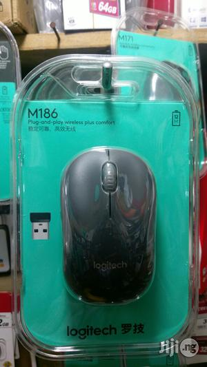 Logitech Wireless Mouse M186 | Computer Accessories  for sale in Lagos State, Ikeja