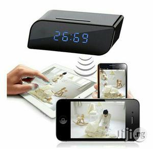 Wireless Network Wifi IP HD 720P Clock Camera Hidden Camera Hidden S   Security & Surveillance for sale in Lagos State, Apapa