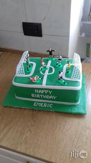 Football Cake for Boys | Meals & Drinks for sale in Abuja (FCT) State, Wuse 2