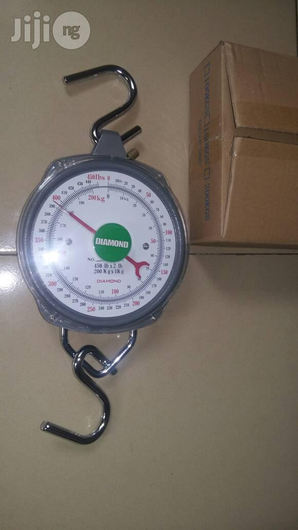 Archive: 200kg Diamond Hanging Scale