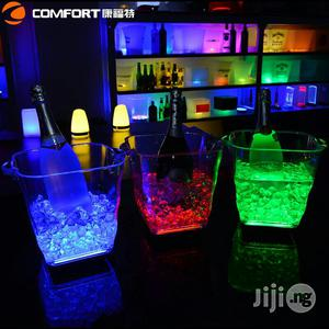 LED Light Rechargeable Champagne Bucket   Home Accessories for sale in Lagos State, Lagos Island (Eko)