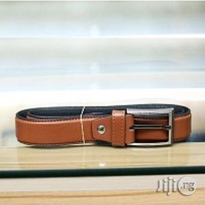 Royal Men's Leather Belt - Brown Size 32-40 | Clothing Accessories for sale in Lagos State, Surulere