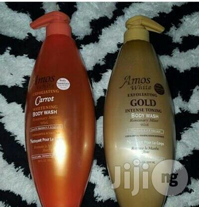Archive: Amos White Intense Toning Shower Gel Spf 60