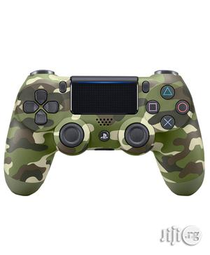Sony Playstation 4 Dualshock 4 Wireless Controller- Green Camouflage   Accessories & Supplies for Electronics for sale in Lagos State, Ikeja