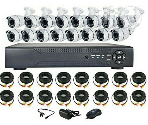 CCTV KIT - High Definition (Ahd) With Remote View 16 Channels