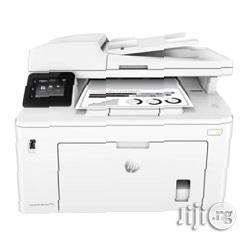 HP Laserjet Pro M227fdw All-In-One Wireless Laser Printer   Printers & Scanners for sale in Lagos State, Ikeja