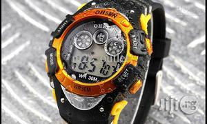 Ohsen Men's Waterproof Digital LCD Alarm Sport Watch | Watches for sale in Lagos State