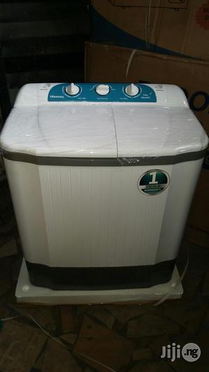 Hisense Washing Machine (TWIN TUB-5.0kg ) | Home Appliances for sale in Lagos State, Lekki