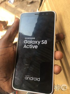 Samsung Galaxy S8 Active Gold 64 GB For Sale   Mobile Phones for sale in Lagos State, Ikeja