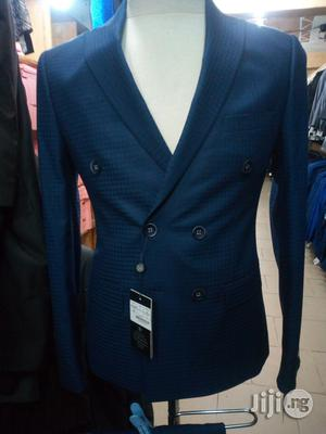 Navy Blue Double Breasted Suit | Clothing for sale in Lagos State, Lagos Island (Eko)