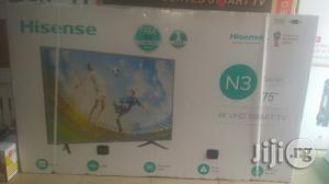 Hisense Led Smart 4k TV 75 Inches | TV & DVD Equipment for sale in Lagos State, Ojo