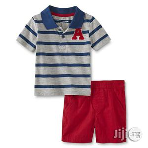 Wonderkids Boys' Polo Shorts | Children's Clothing for sale in Lagos State, Surulere