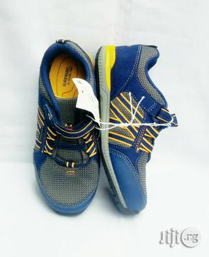 Blue and Yellow Canvas | Children's Shoes for sale in Lagos State, Lagos Island (Eko)