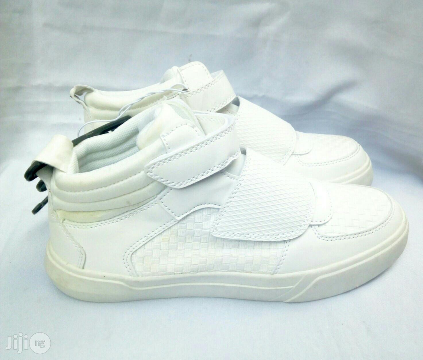 High Top Off White Canvas