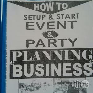 Manual On Event And Party Planning | Books & Games for sale in Rivers State, Port-Harcourt