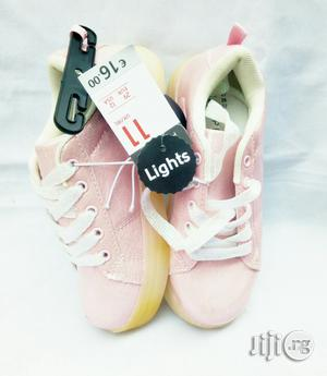 LED Pink Canvas   Children's Shoes for sale in Lagos State, Lagos Island (Eko)